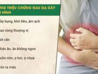 Dấu hiệu của bệnh đau dạ dày