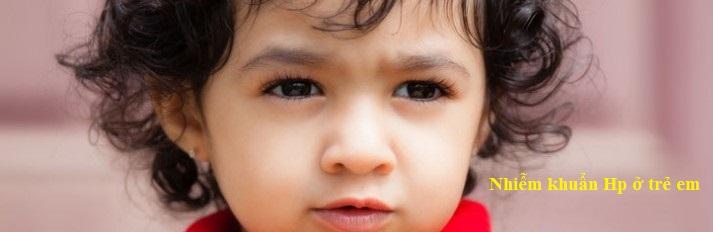 Nhiễm Hp ở trẻ em