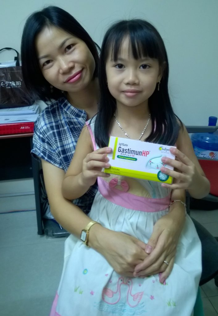 Kinh nghiệm chữa bệnh cho con bị nhiễm khuẩn Hp dạ dày 1