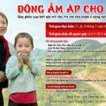 """Chương trình từ thiện """"Đông ấm áp cho em"""" tháng 11 năm 2015"""