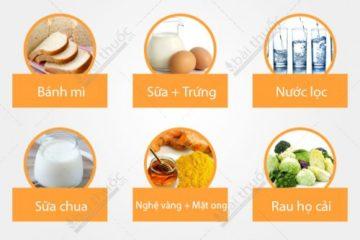 Bệnh viêm loét dạ dày tá tràng nên ăn gì?