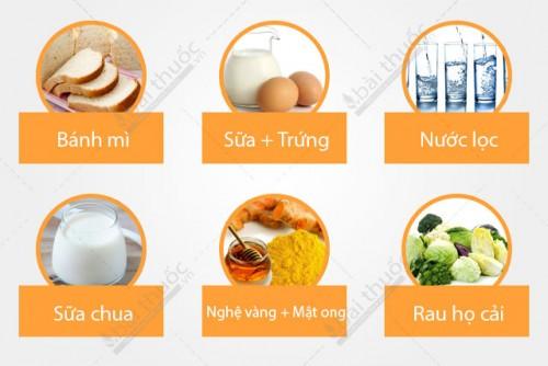 Bệnh viêm loét dạ dày tá tràng nên ăn gì? 1