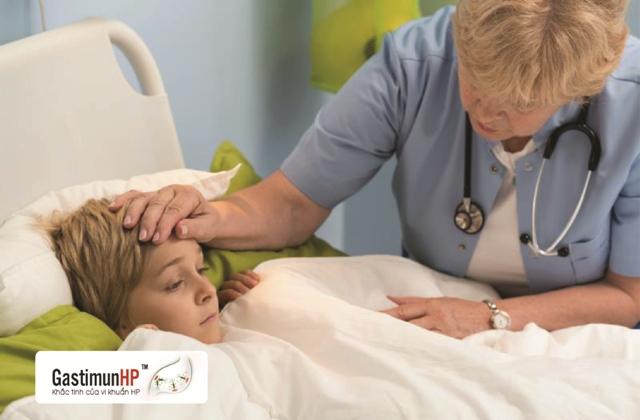 Tư vấn trực tuyến - Viêm dạ dày ở trẻ em do nhiễm HP 3