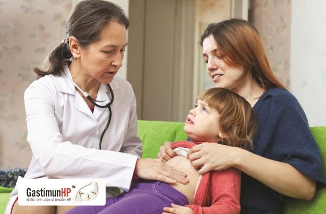 Tư vấn trực tuyến - Viêm dạ dày ở trẻ em do nhiễm HP 6