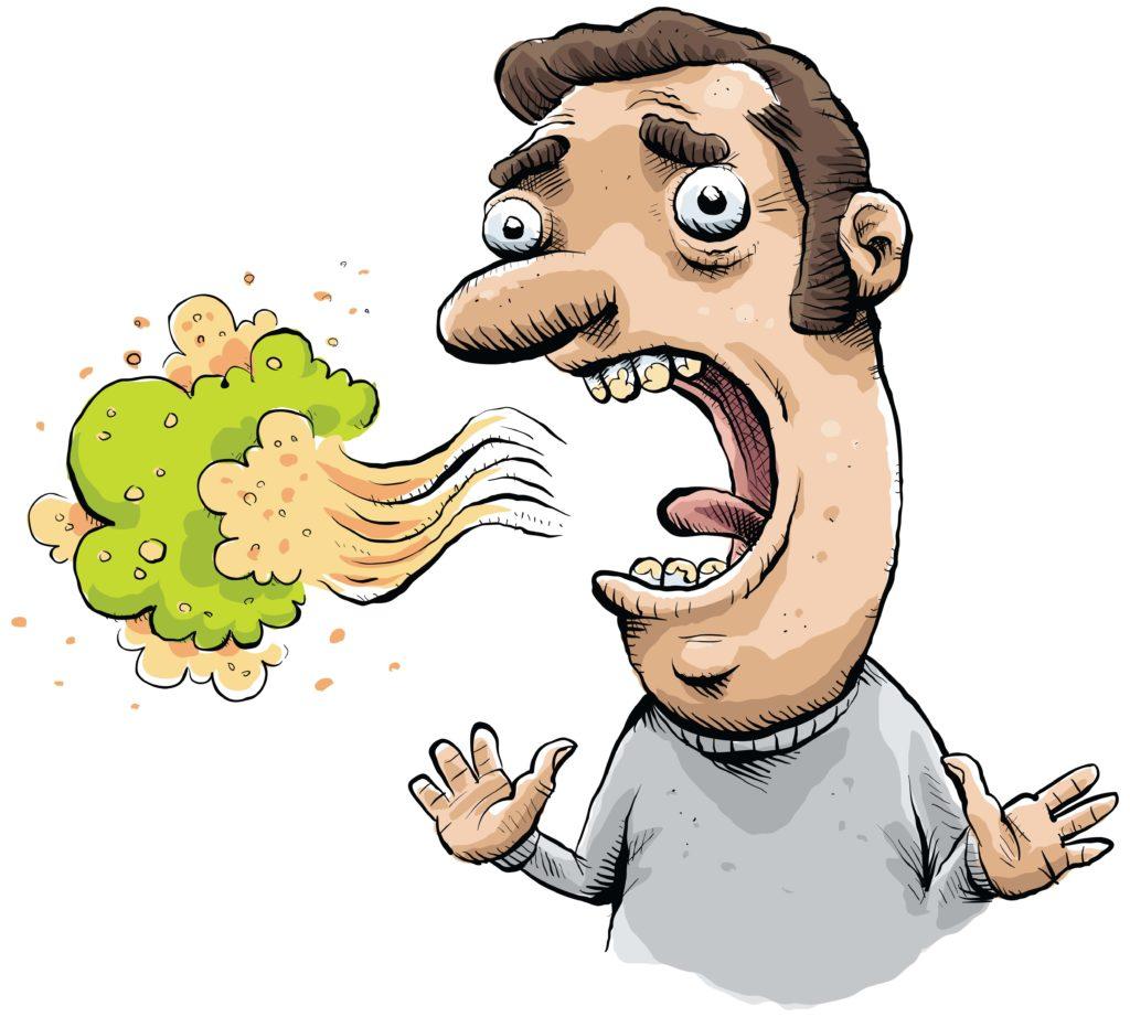 Nhiễm khuẩn Hp gây ra Hôi miệng 2