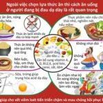 Chế độ ăn bệnh viêm loét dạ dày tá tràng