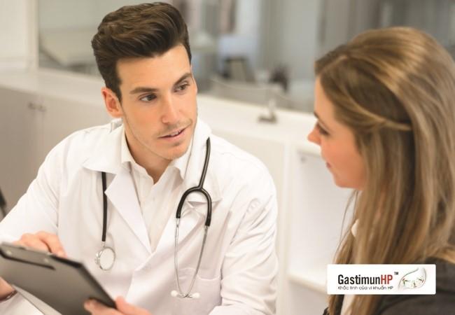 Tư vấn trực tuyến viêm dạ dày do nhiễm Hp