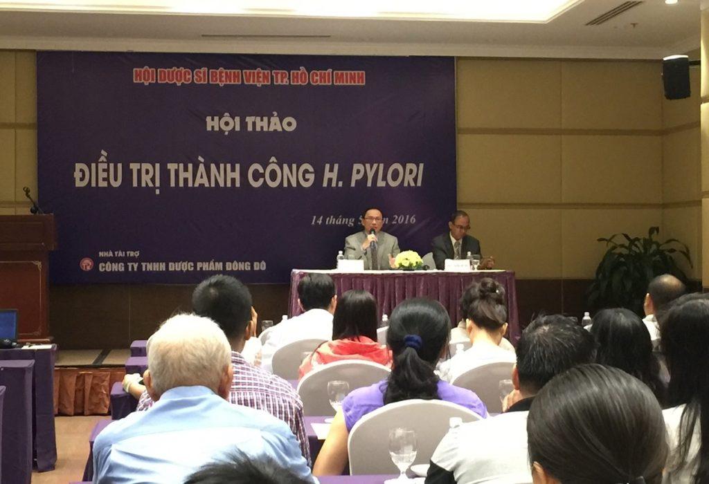 Hội thảo chuyên đề Điều trị H.pylori của Hội Dược sỹ bệnh viện thành phố Hồ Chí Minh 2