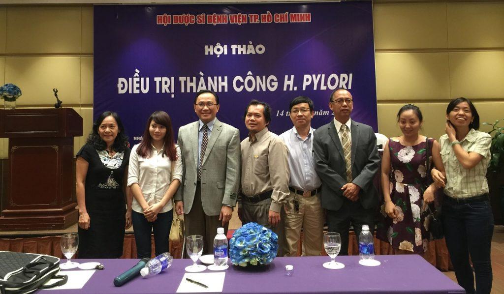 Hội thảo chuyên đề Điều trị H.pylori của Hội Dược sỹ bệnh viện thành phố Hồ Chí Minh 4