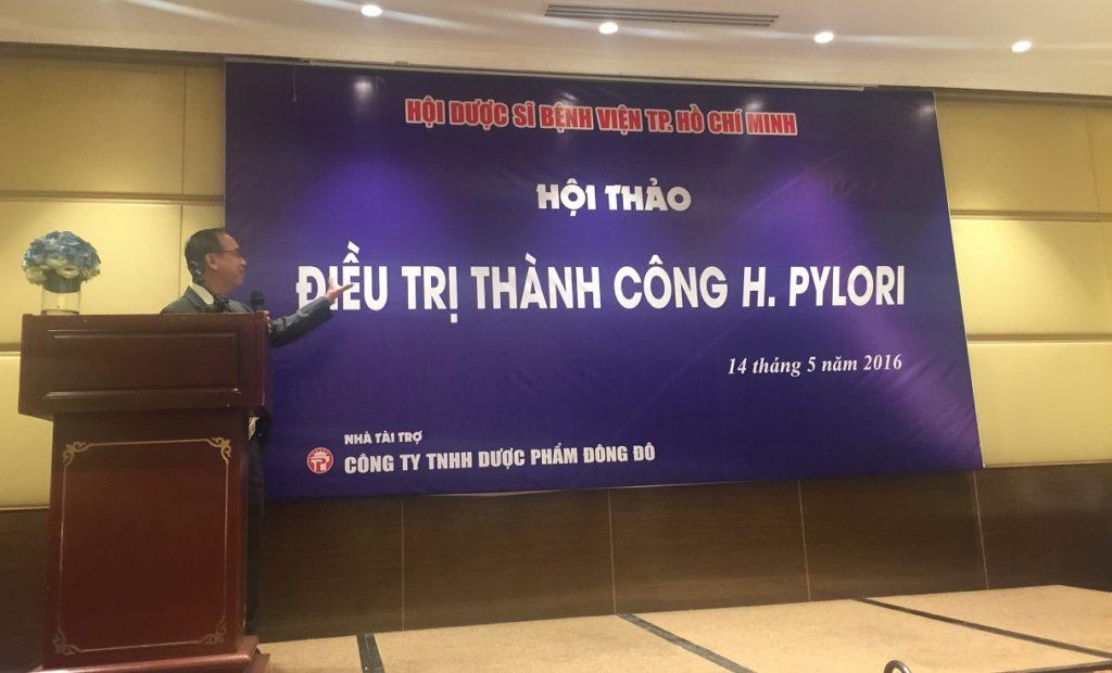 Hội thảo chuyên đề Điều trị H.pylori của Hội Dược sỹ bệnh viện thành phố Hồ Chí Minh 1