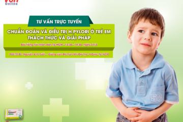Mối liên quan giữa HP và bệnh lý dạ dày ở trẻ em – CT sức khỏe cho mọi nhà ngày 14-03-2017