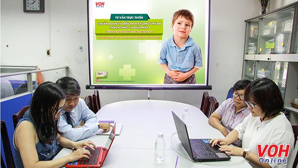 Tư vấn trực tuyến: Chẩn đoán và điều trị HP ở trẻ em 3