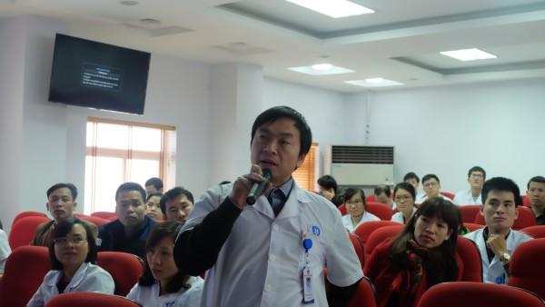 Hội thảo chuyên đề Cập nhật phác đồ điều trị Hp tại Bệnh viện đa khoa tỉnh Phú Thọ 2