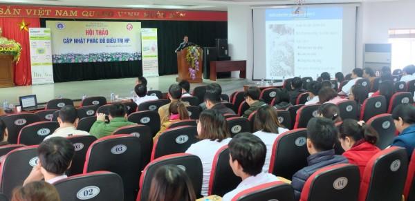 Hội thảo chuyên đề Cập nhật phác đồ điều trị Hp tại Bệnh viện đa khoa tỉnh Phú Thọ 1