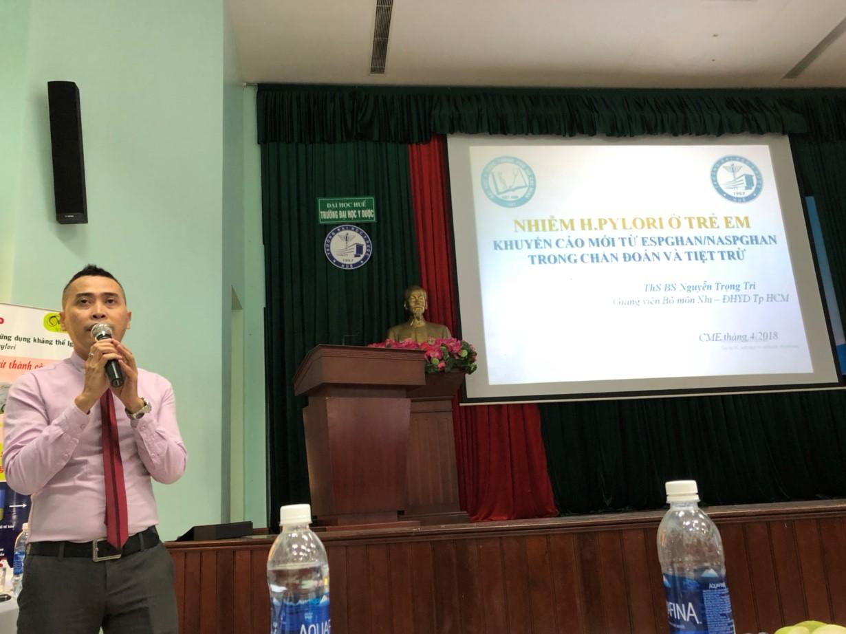 Hội thảo: điều trị tiệt trừ vi khuẩn Hp ở trẻ em – những khó khăn và giải pháp hỗ trợ 2