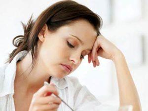 3.Cảm giác chán ăn, cơ thể suy nhược 1