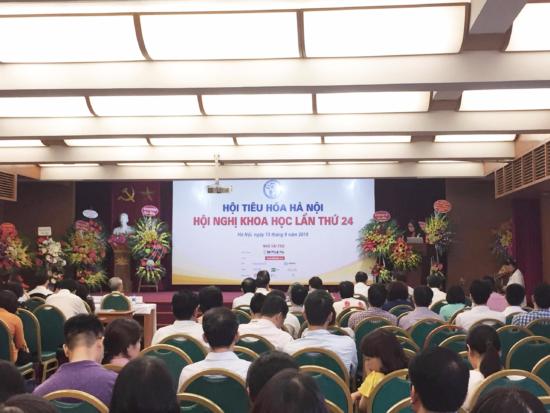 Hội nghị khoa học tiêu hóa Hà Nội lần thứ 24 1