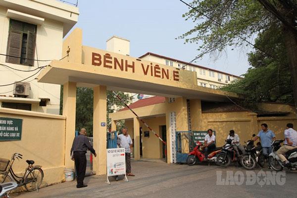 Giá nội soi dạ dày tạikhoa Tiêu hóa – Bệnh viện E 1