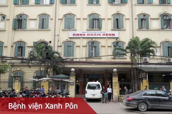 Trung tâm kỹ thuật cao và Tiêu hóa Hà Nội - Bệnh viện Xanh Pôn 1