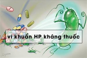 Kết quả hình ảnh cho hạn chế hp kháng thuốc