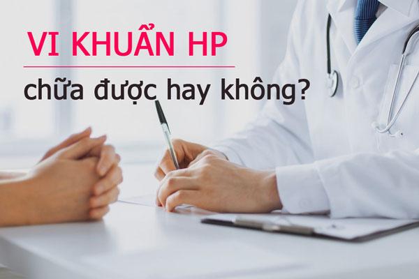 Vi khuẩn HP có chữa được không? Làm sao để đối phó với vi khuẩn HP 1