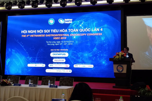Hội nghị nội soi tiêu hóa toàn quốc lần 4- vegec 2019 1