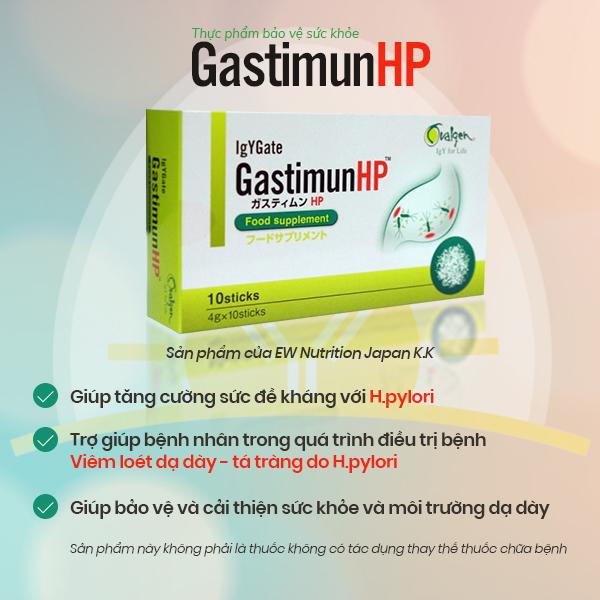 Gastimunhp - Khắc tinh của vi khuẩn Hp